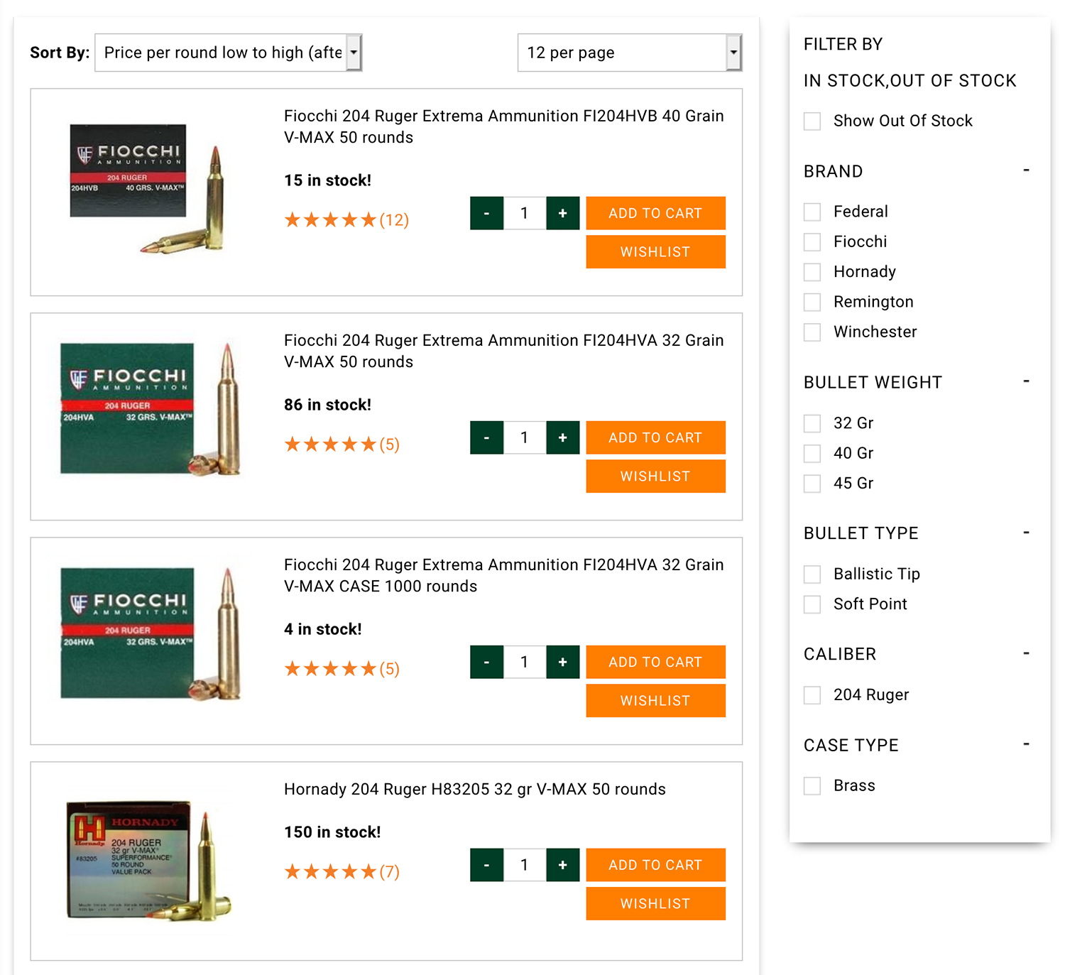 204 Ruger RIFLE AMMO